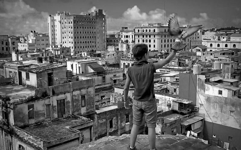 Numa Escola de Havana.